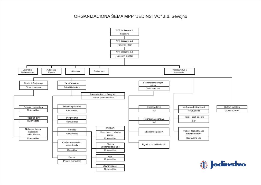 Organizaciona Sema on It Governance Organizational Structure